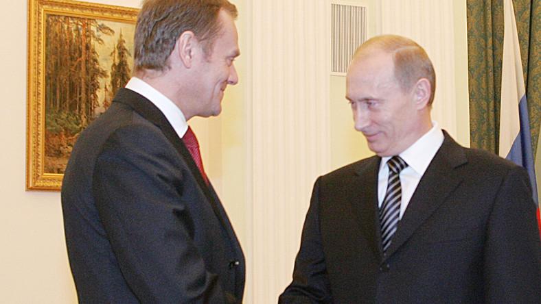 Tusk nie będzie drażnił Putina