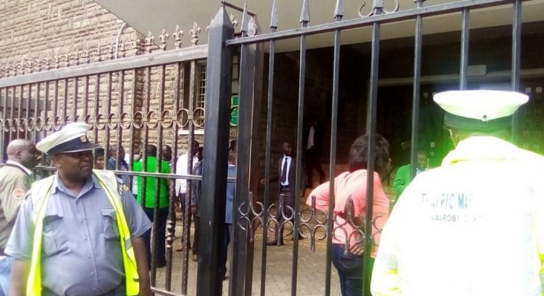 Chaos, teargas at City Hall after attempt to remove Majority Leader Abdi Guyo