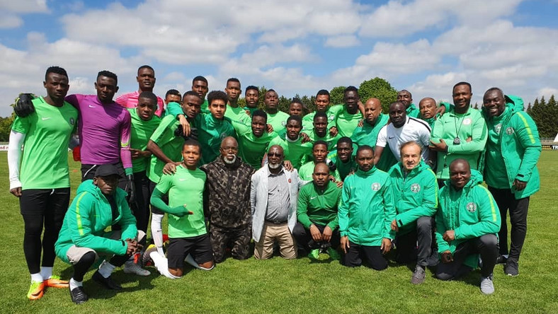 2019 Flying Eagles of Nigeria have refused to leave Poland in protest over unpaid wages and bonuses (Twitter/NFF)