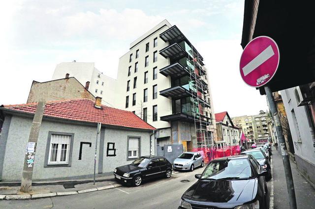 U Sredačkoj se gradi petospratnica sa 10 stanova, poslovni prostor, dve podzemne garaže i 12 parking mesta