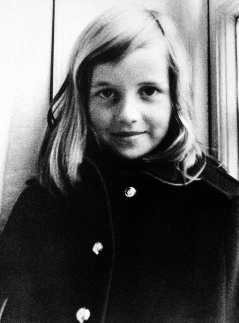Tak wyglądała księżna Diana w dzieciństwie