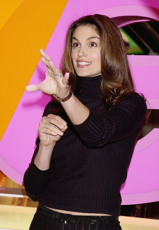 Cindy Crawford w 2000 roku