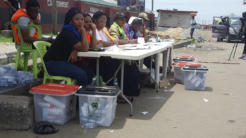 low turnout of voters INEC