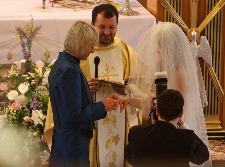 Piotr Rubik ożenił się z Agatą Paskudzką