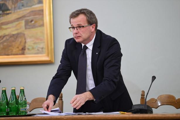 Były podsekretarz stanu w Ministerstwie Finansów Ludwik Kotecki