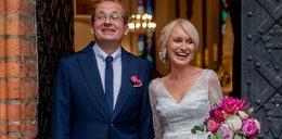 Robert Górski poślubił o 14 lat młodszą partnerkę i ochrzcił córkę WIDEO