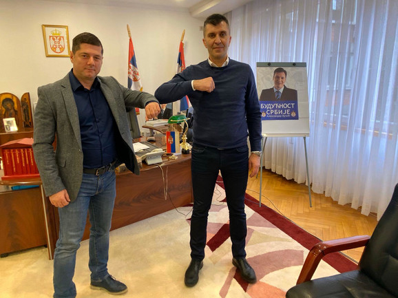 Direktor Draženko Ruljić i ministar Zoran Djordjević