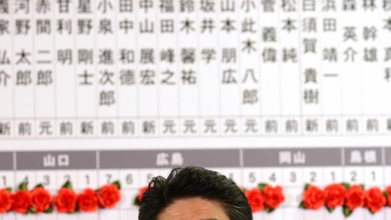 Shinzo Abe, fot. AFP