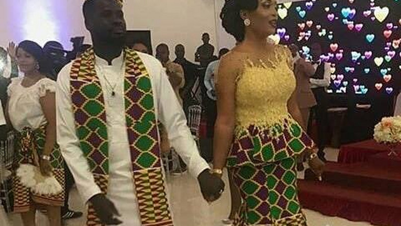 Emmanuel Eboue had a low-key wedding with his long term girlfriend  [Omasports]