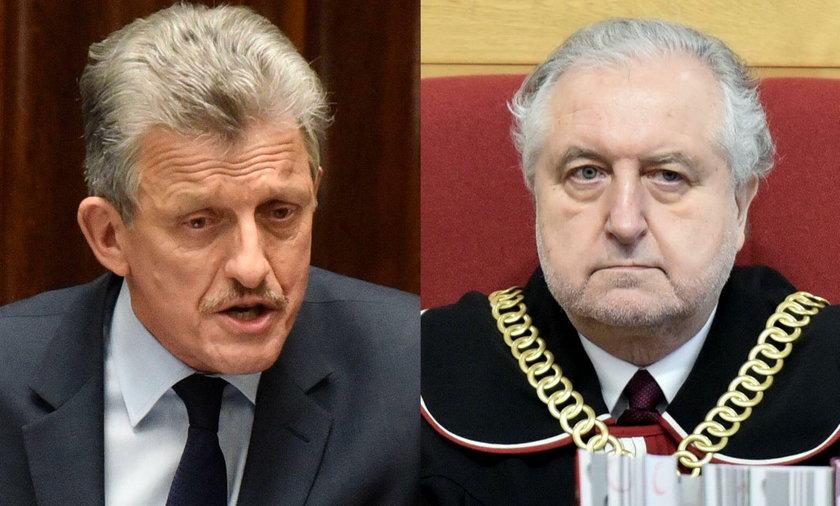 Andrzej Rzepliński i Stanisław Piotrowicz