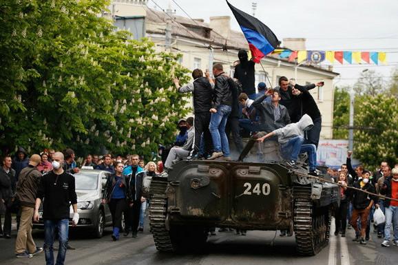 Proruski separatisti u Ukrajini