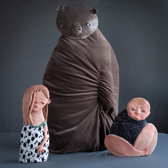 Ana Bičenko, Medved i deca