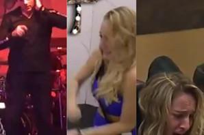 """TRUDILA SE, ALI NIJE IZDRŽALA: Sloba nastupao u """"Zadruzi"""", Luna vrištala ispred ogledala, doživela nervni slom! (VIDEO)"""