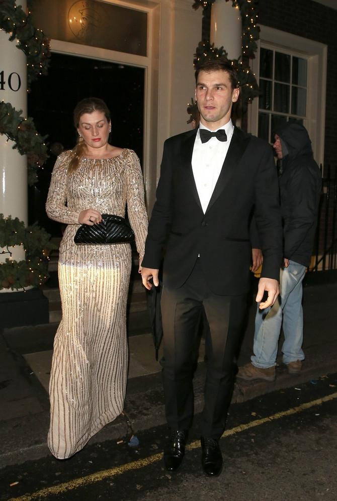 Bračni par Ivanović pre pet godina u Londonu