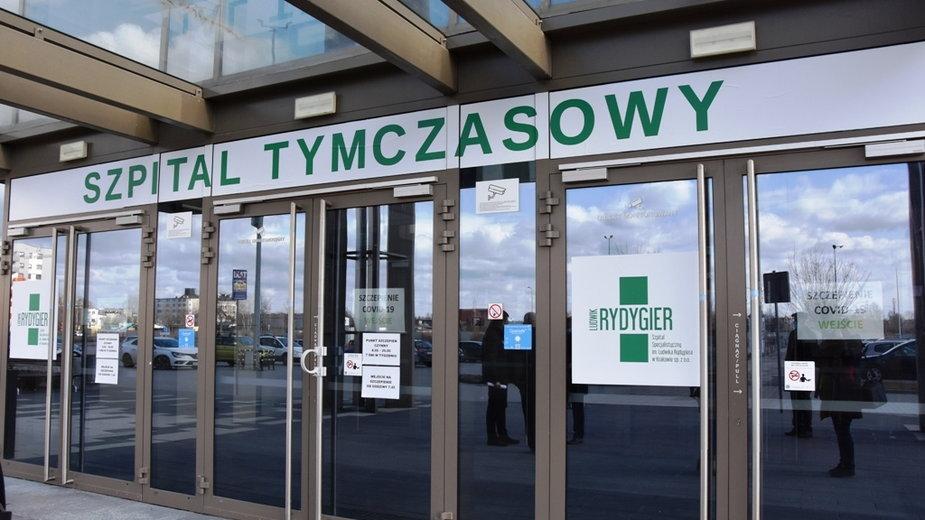 Szpital tymczasowy w Krakowie