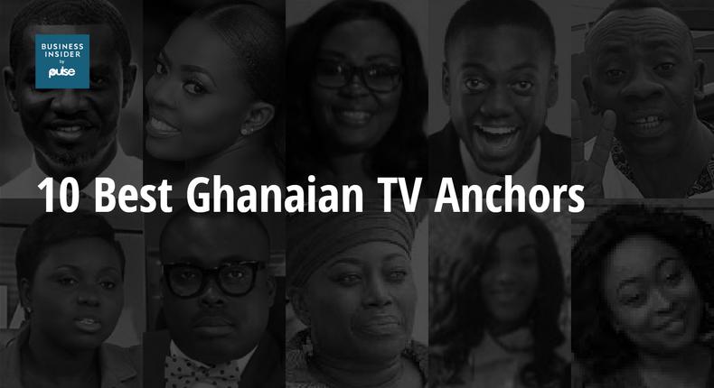 10 best TV anchors in Ghana