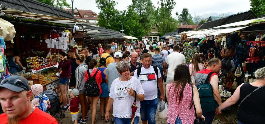 Oblężenie w górach. Tłumy turystów w Zakopanem!