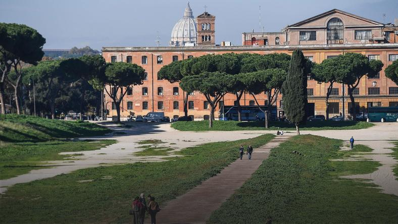 ITALY CIRCUS MAXIMUS REOPENED (Circus Maximus in Rome reopened)