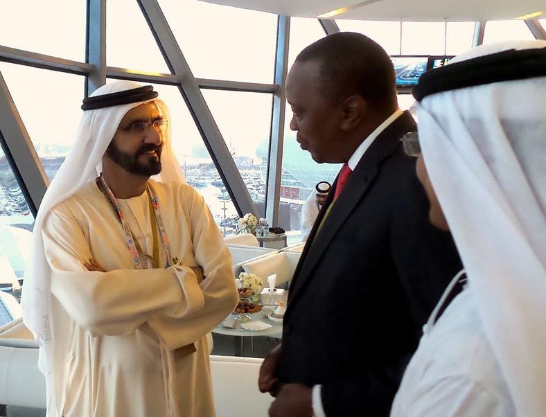 President Uhuru Kenyatta in Dubai during a past function. (Nairobi Wire)