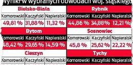 Zobacz, jak głosowaliśmy w województwie śląskim