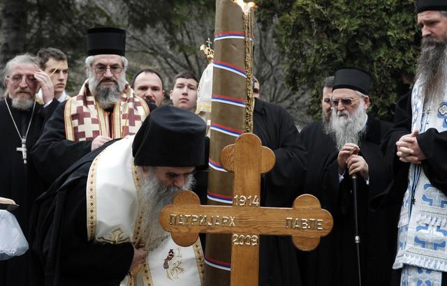 2009, manastir Rakovica - 40 dana od smrti patrijarha Pavla