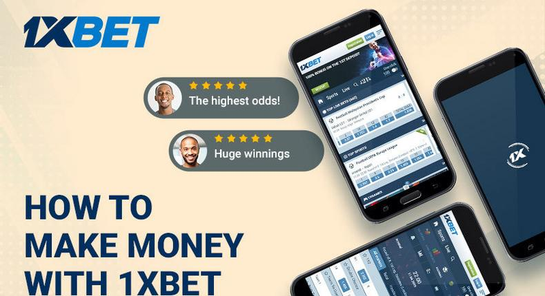 How to make money with 1XBet