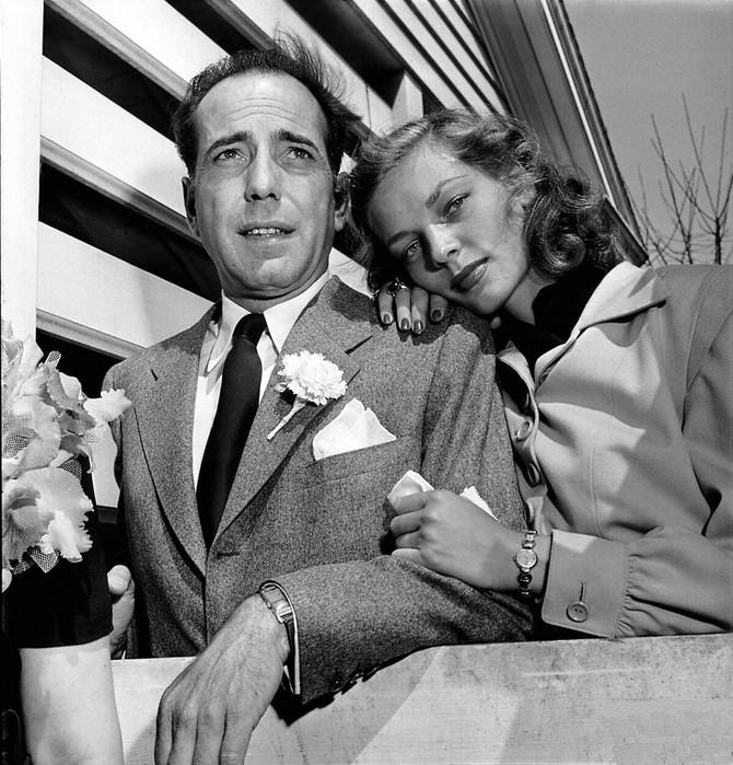 Loren Bakol i Hamfri Bogart