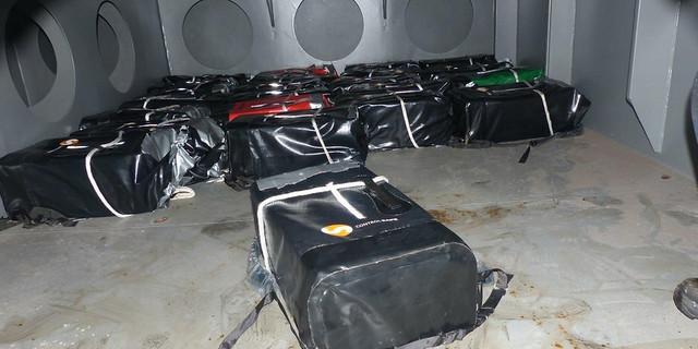 Kokain u vodootpornim paketima