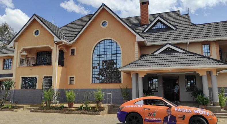 Eric Omondi moves into new Sh141 million mansion in Karen