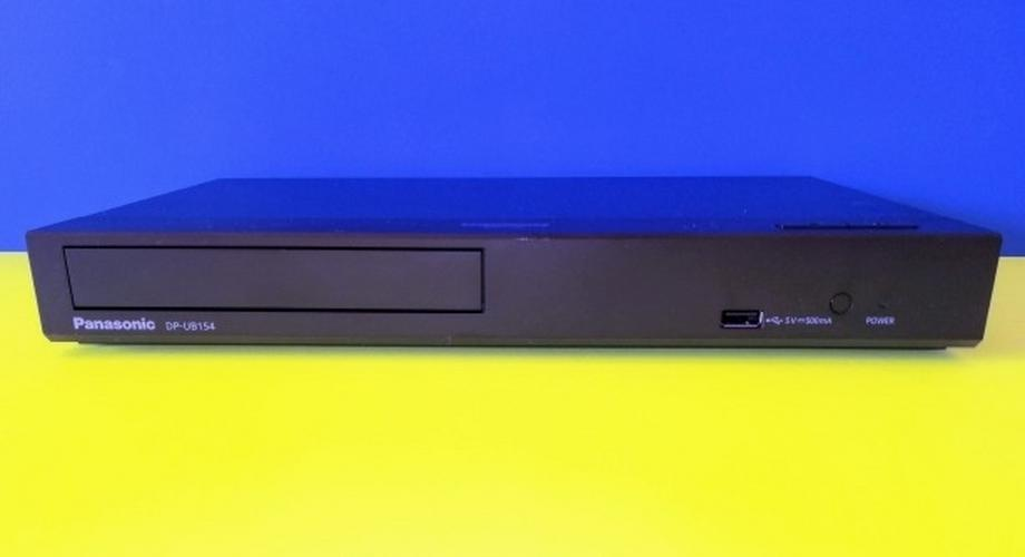 Nur 140 Euro: 4K/UHD-Player Panasonic DP-UB154 im Test