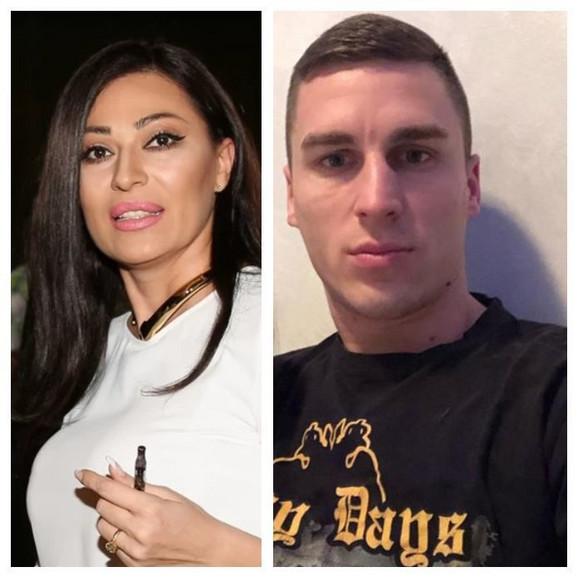 Ceca Ražnatović i Ognjen Vranješ