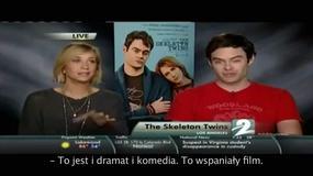 """Wpadka dziennikarza podczas wywiadu z Kristen Wiig i wieści na temat nowego """"Hobbita"""" - Flesz Filmowy"""