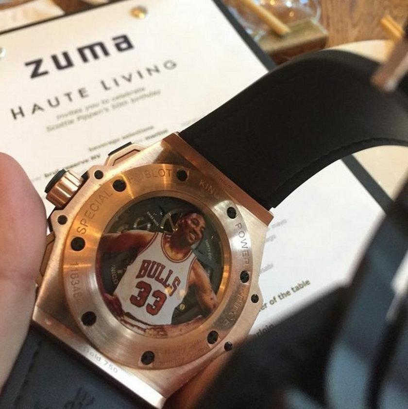 Scottie Pippen dostał na urodziny zegarek wart 260 tys zł!