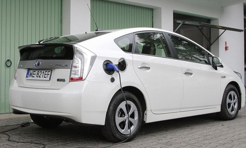 Hybrydowa Toyota Prius