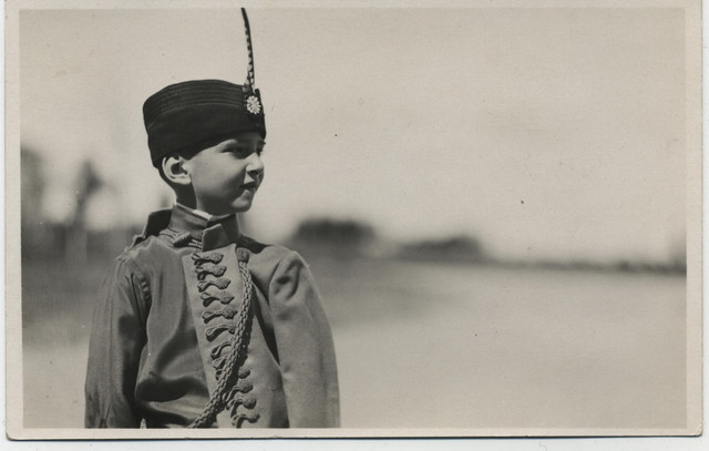 Mladi kralj Petar II Karađorđević, fond M. Jurišić