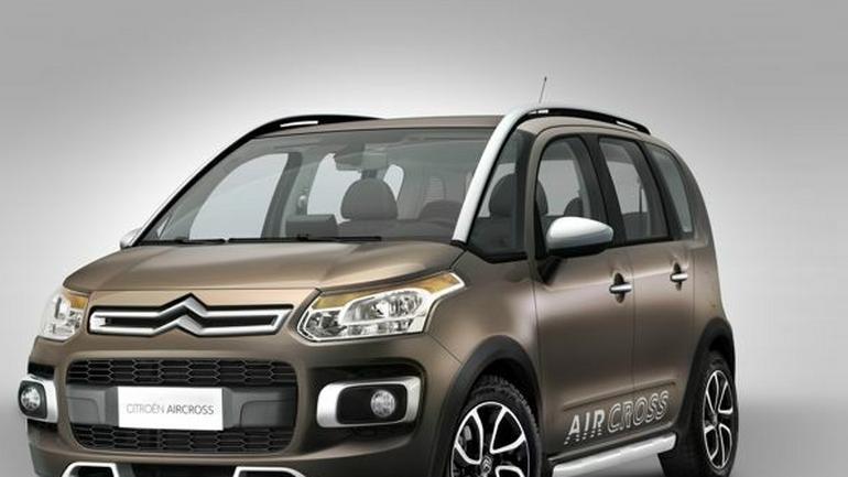 Citroën AirCross: pierwsze zdjęcia C3 Picasso  w wersji terenowej