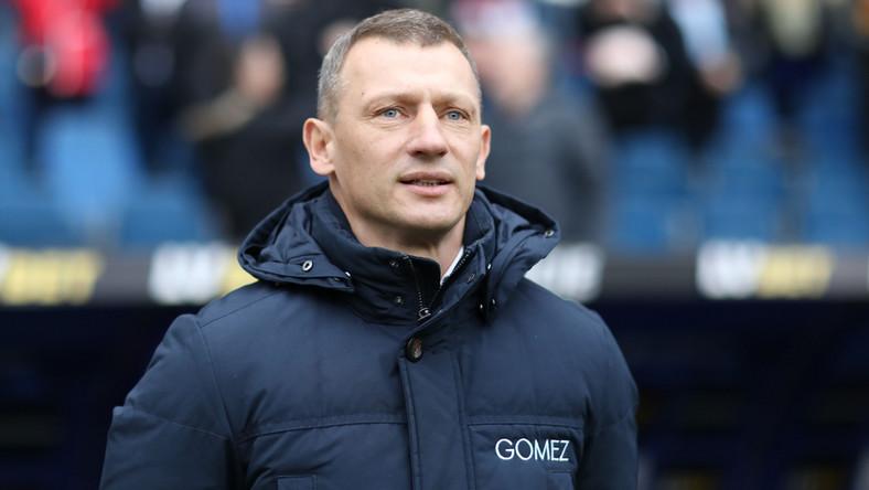 Trener Lecha Dariusz Żuraw