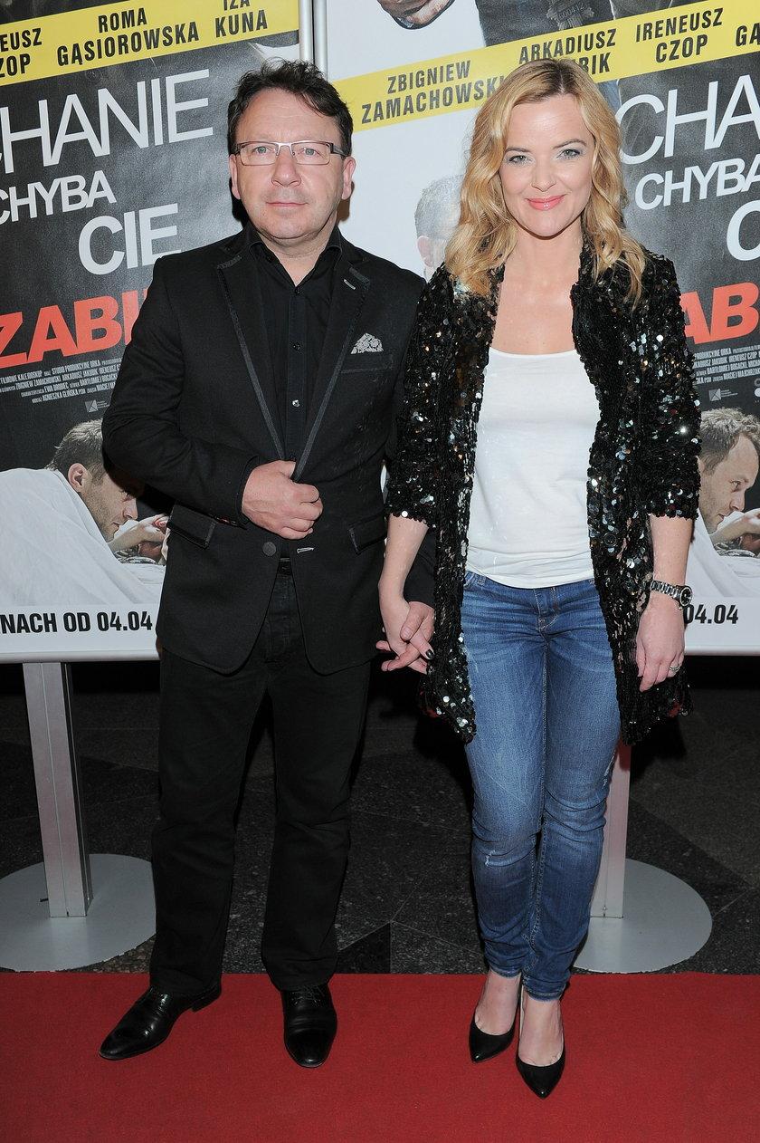 Zbnigiew Zamachowski i Monika Richardson