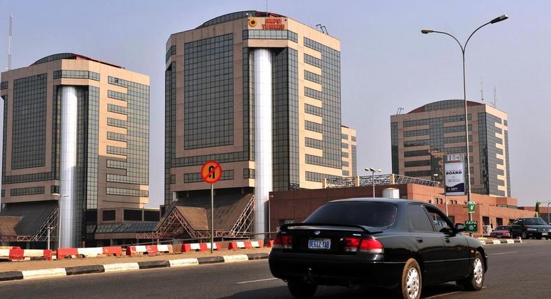 NNPC headquarters in  Abuja