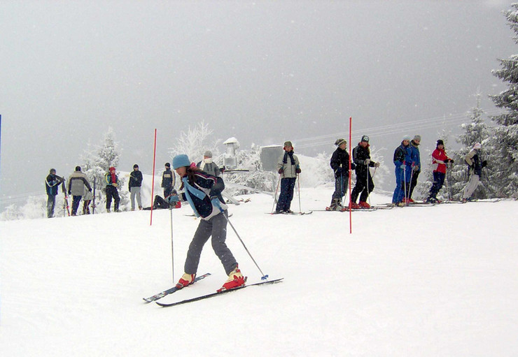 Skijanje na Goliji-Beba Bojovic