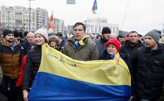 Ukraina: Starcia między policją a zwolennikami Saakaszwilego