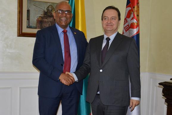 Ivica Dačić sa kolegom iz Grenade