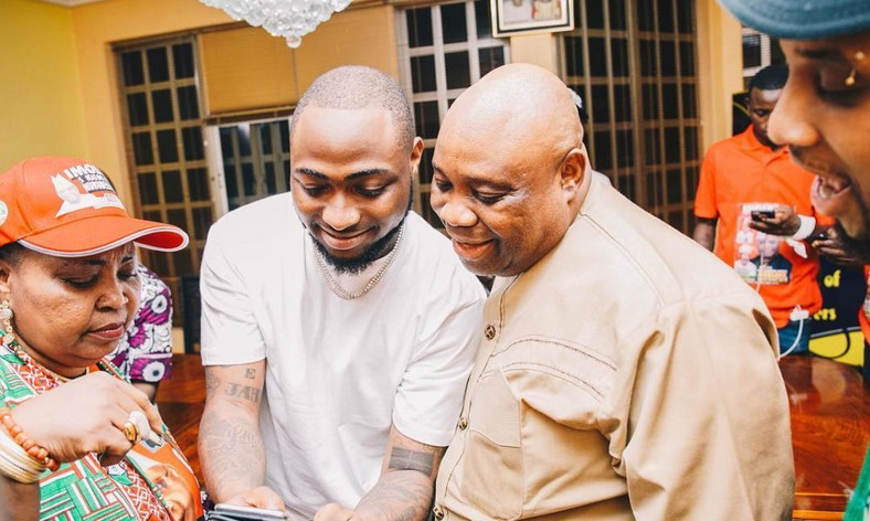 Davido has come out to speak about the arrest of his uncle, Senator Ademola Adeleke [GQBuzz]