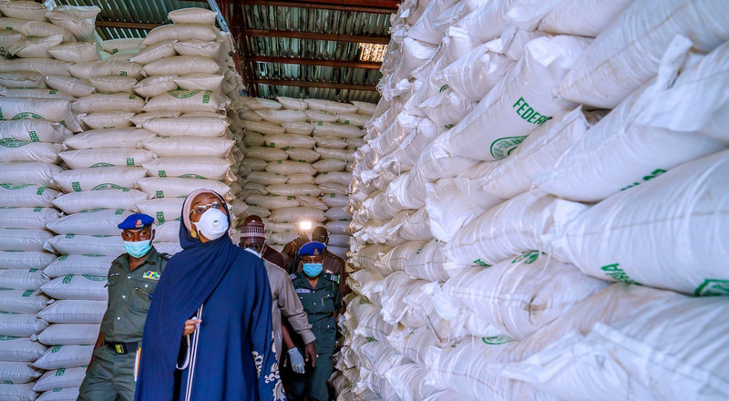 Lockdown: FG begins release of garri, other food items to vulnerable Nigerians