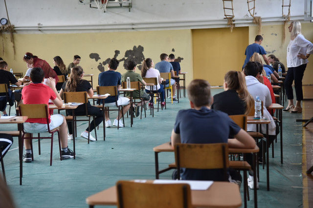 Beograd, polaganje matematike