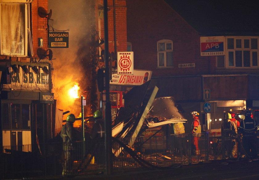 W wyniku wybuchu zawalił się dwupiętrowy budynek