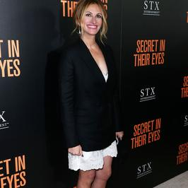 "Olśniewająca Julia Roberts na premierze ""Secret In Their Eyes"""