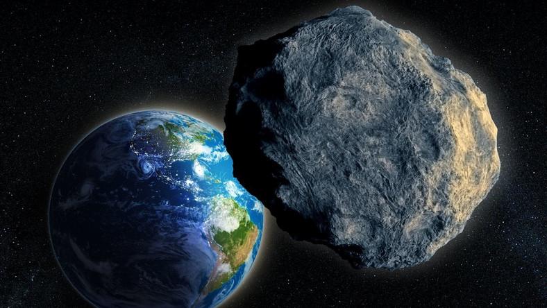Planetoida zbliżająca się do Ziemi
