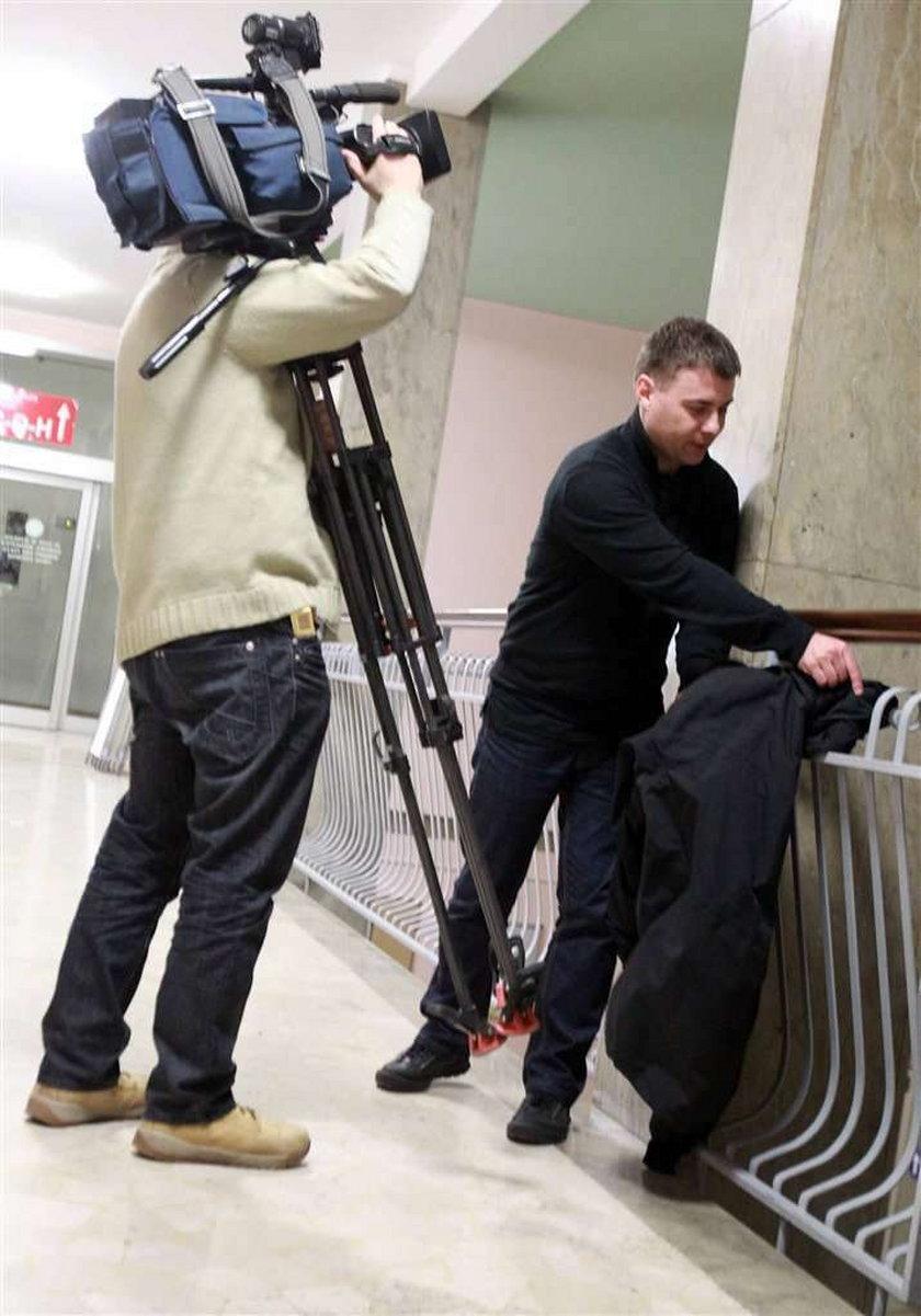 Wywalili ekipę TVN-u ze szpitala, gdzie leży Kubica!