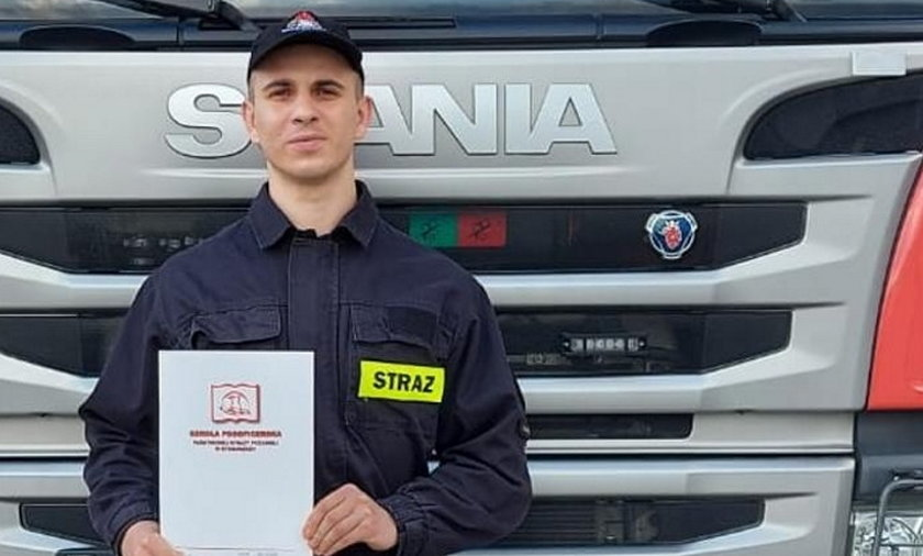 Wrocław. Bohaterska akcja strażaka. Uratował życie 8-letniej Oli.
